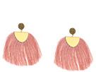 Lucky Brand Blush Fringe Earrings