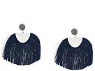 Lucky Brand Blue Fringe Earrings