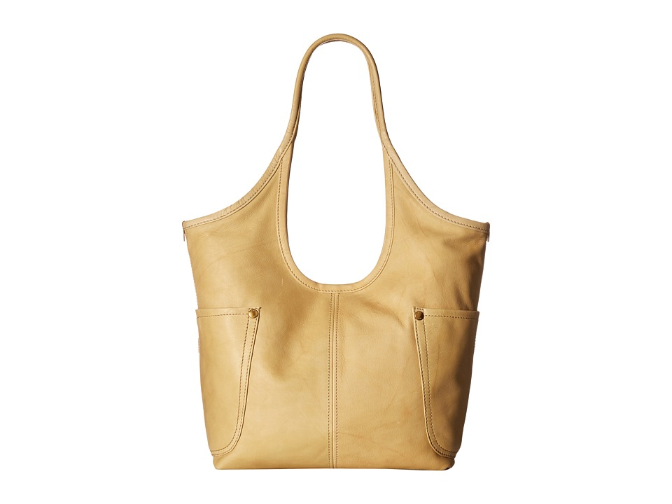 Frye - Campus Rivet Shoulder (Banana Dakota) Shoulder Handbags