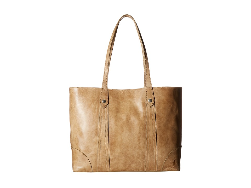 Frye - Melissa Shopper (Sand Antique Pull Up) Hobo Handbags