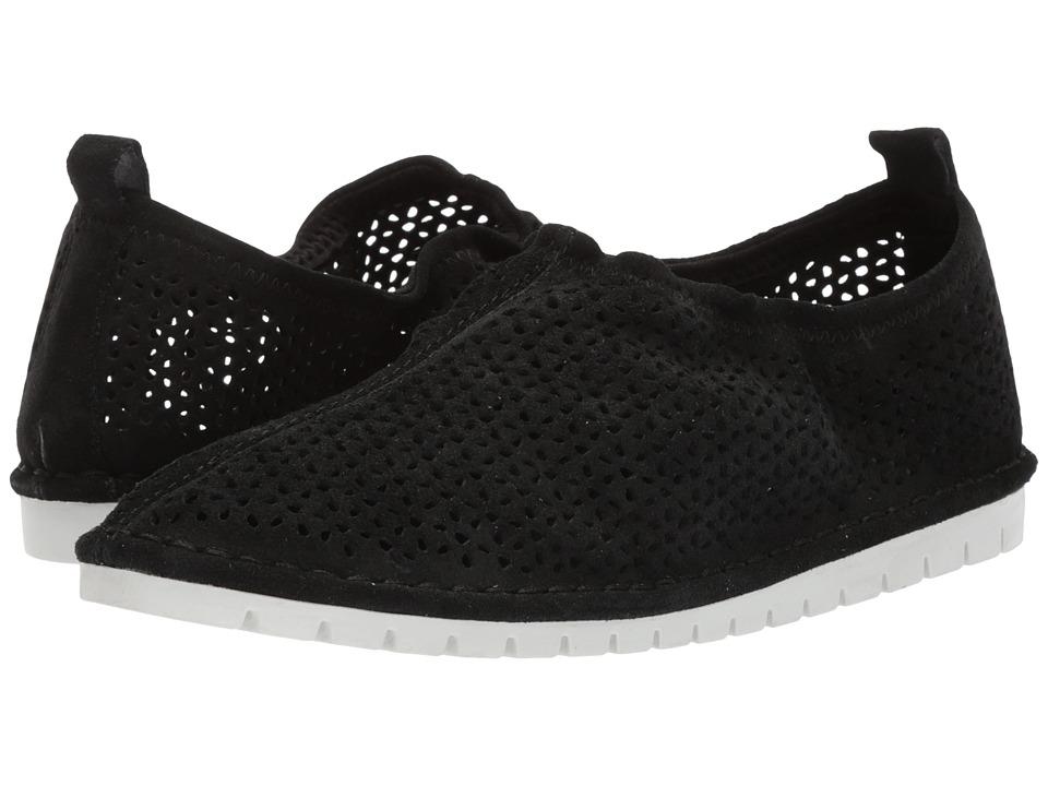 Kelsi Dagger Brooklyn - Royce Sneaker (Black Cow Suede) Womens Shoes