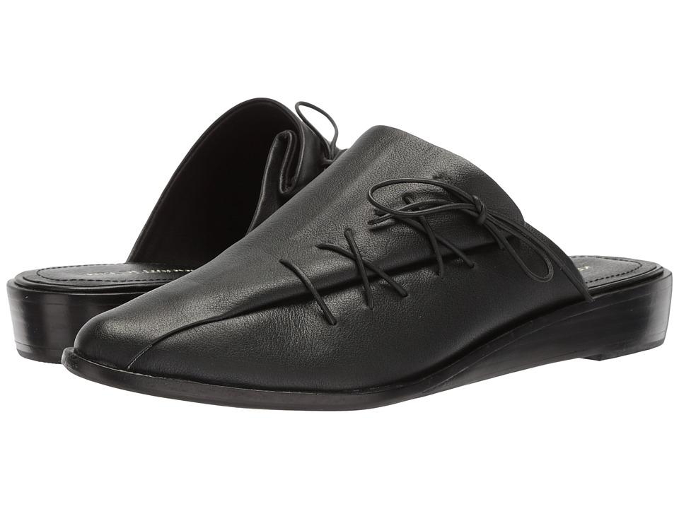 Kelsi Dagger Brooklyn - Avenue Slide (Black Nappa Leather) Womens Shoes