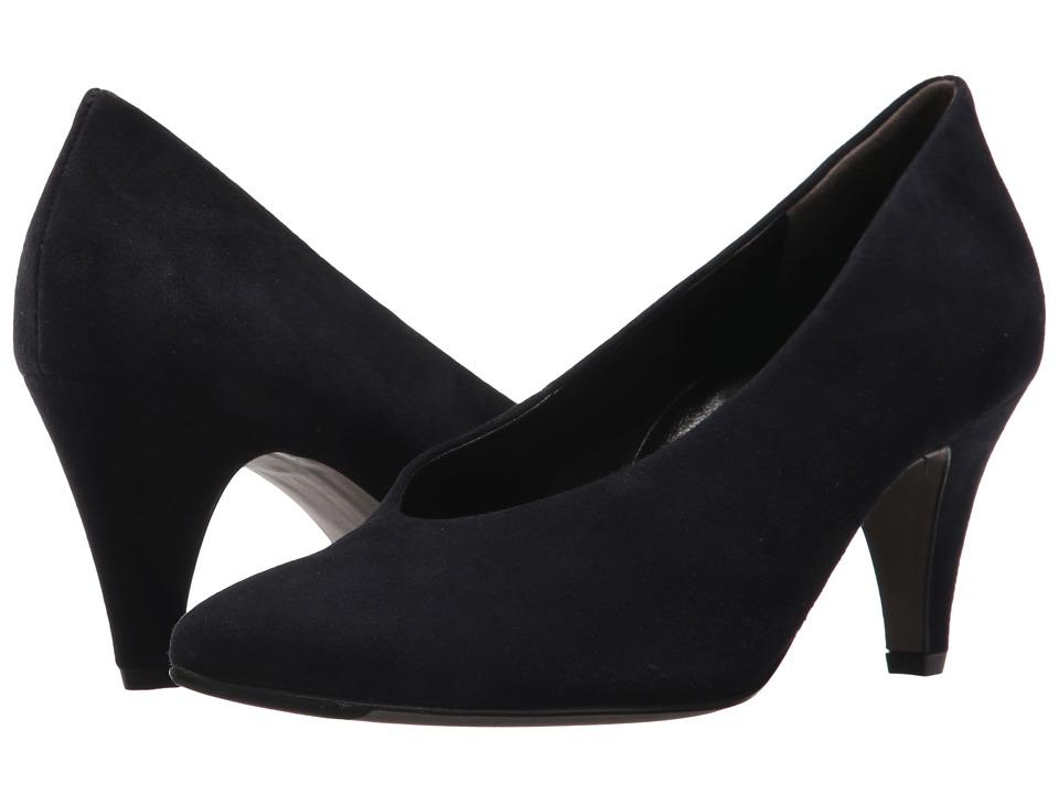 Paul Green Renata Pump (Blue Suede) High Heels
