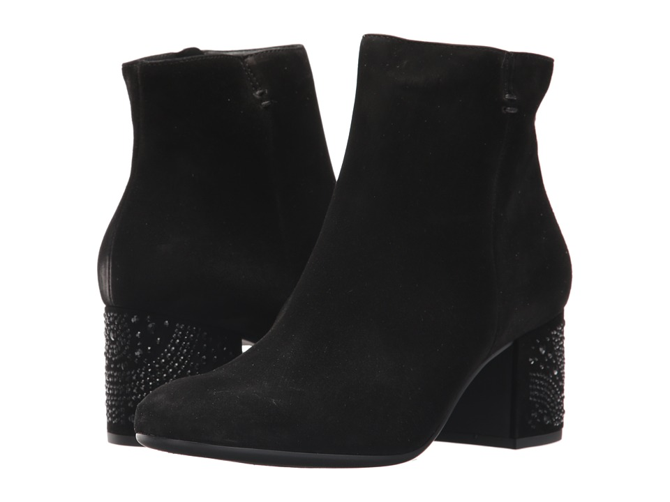 Paul Green Ronette Boot (Black Suede) Women's Boots