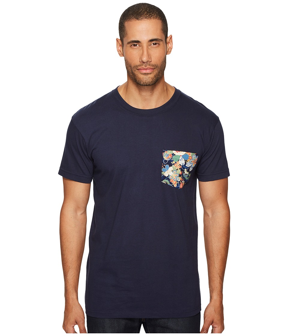 Naked & Famous - Flower Festival Print Pocket T-Shirt