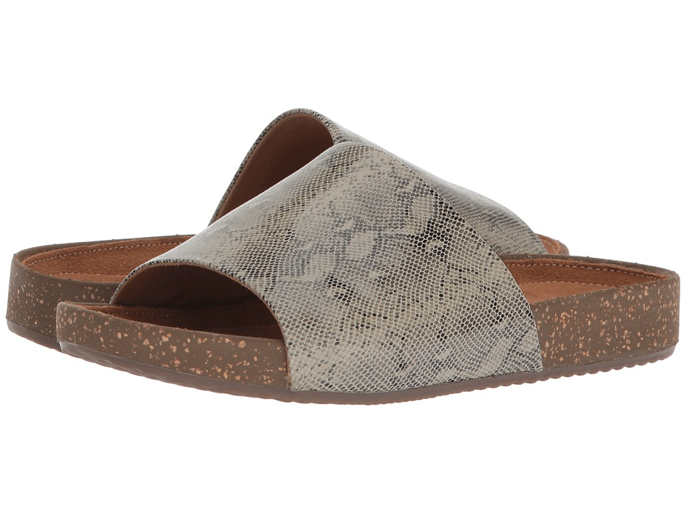 Clarks - Rosilla Hollis (Sage Snake Leather) Womens Sandals