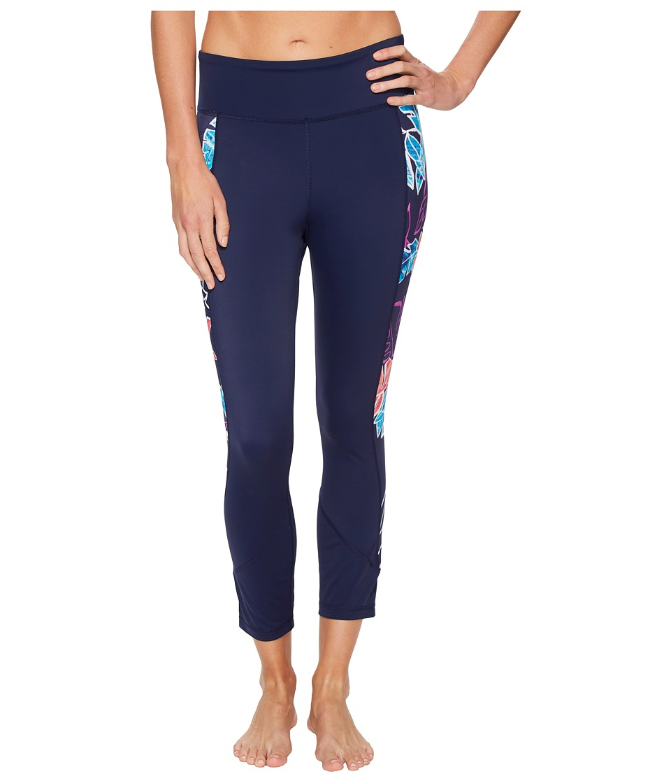 Tommy Bahama IslandActive Graphic Tropics Cropped Legging Cover-Up (Mare Navy) Women