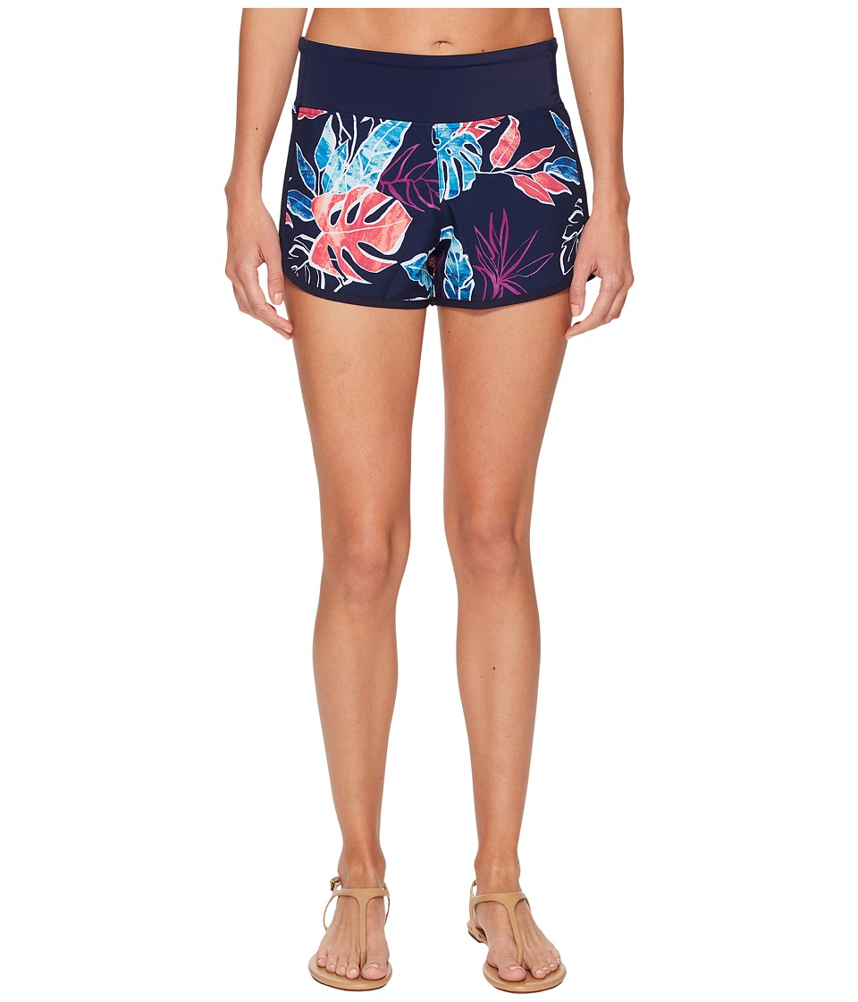 Tommy Bahama IslandActive Graphic Tropics Hybrid Pull-On Short Cover-Up (Mare Navy)