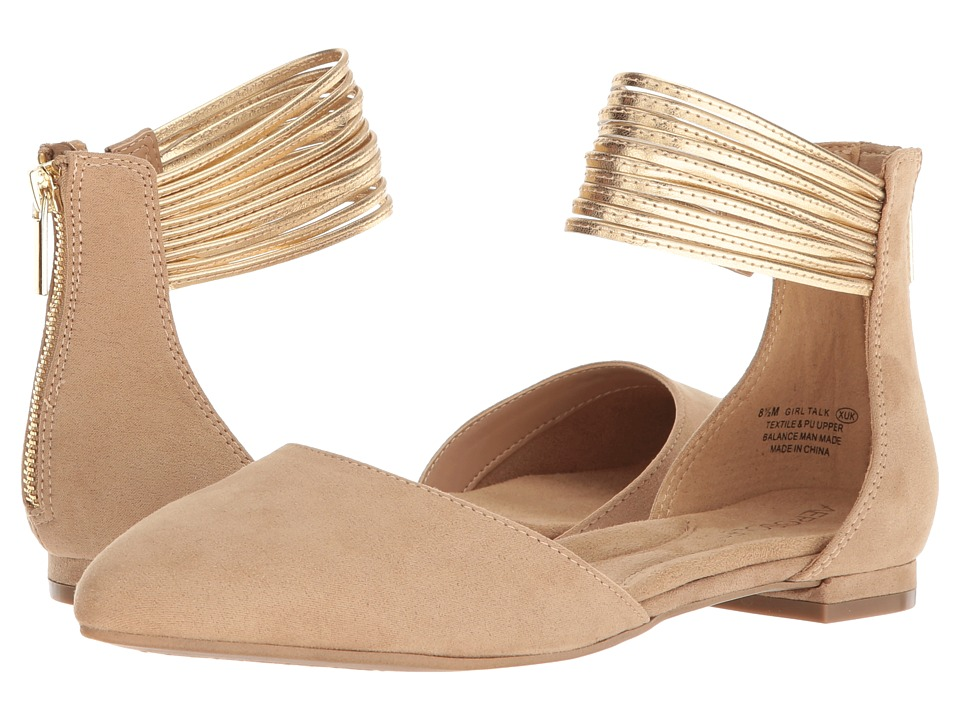 Aerosoles Girl Talk (Nude Combo) Slingbacks