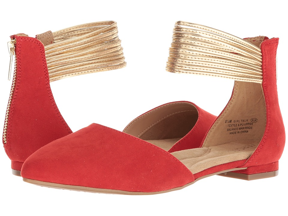 Aerosoles Girl Talk (Red Combo) Slingbacks