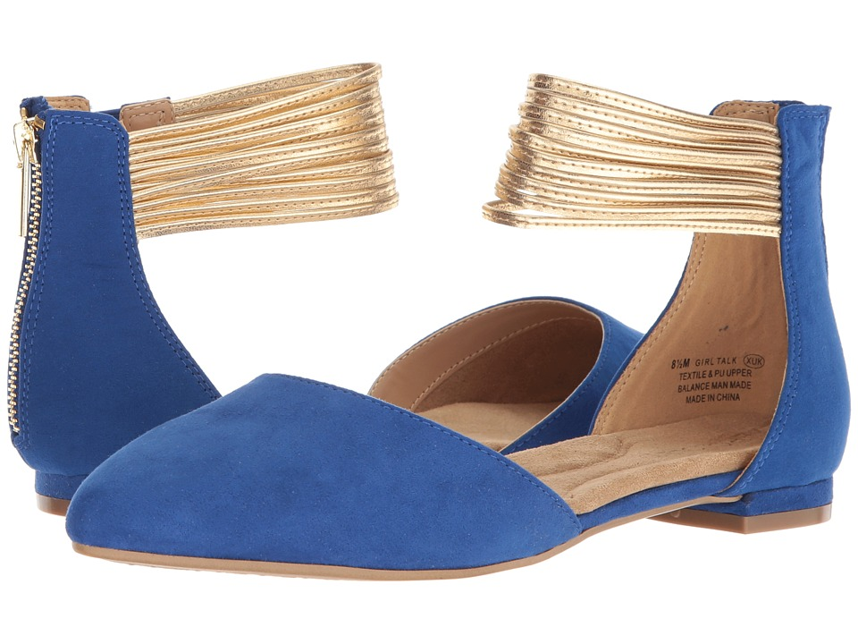 Aerosoles Girl Talk (Blue Combo) Slingbacks