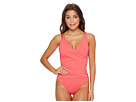 Tommy Bahama Pearl Wrap-Front One-Piece Swimsuit