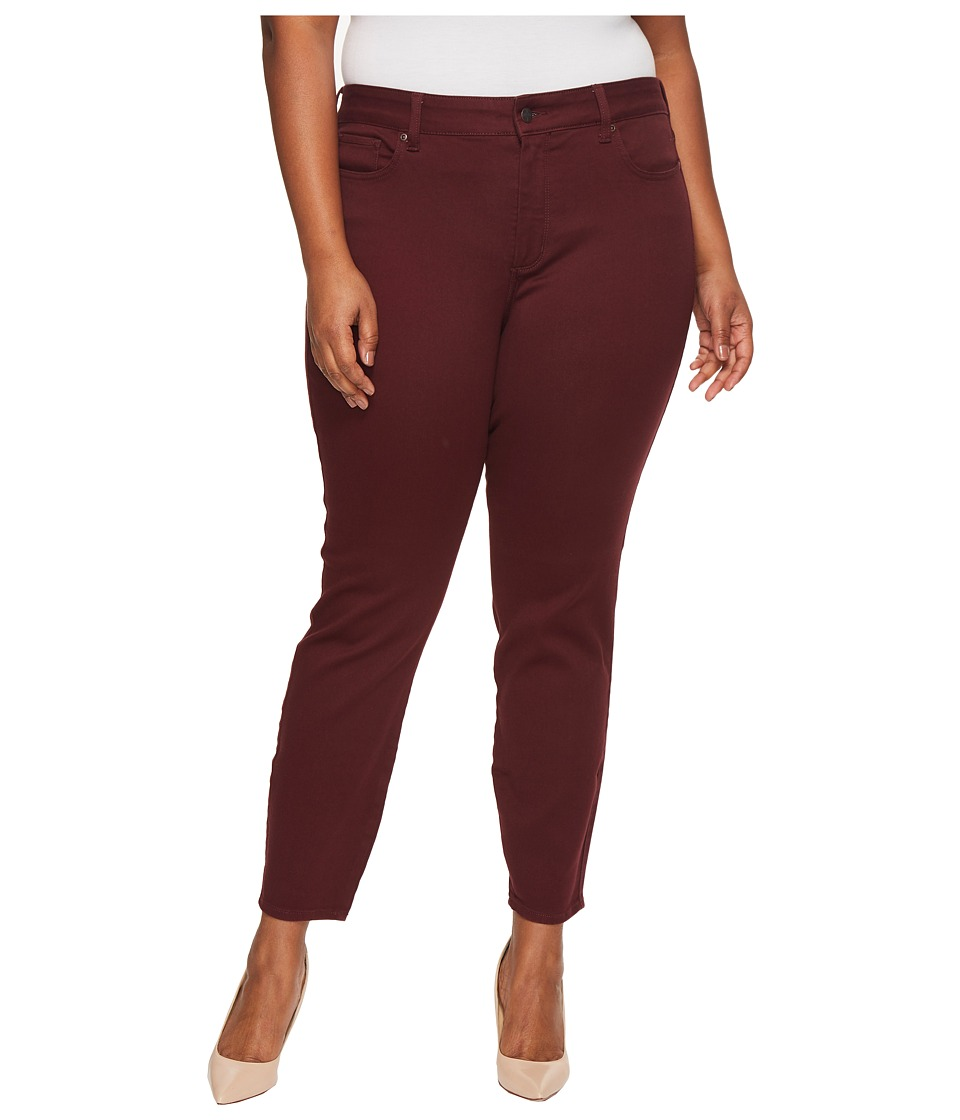 NYDJ Plus Size Plus Size Ami Skinny Leggings in Deep Currant (Deep Currant) Women