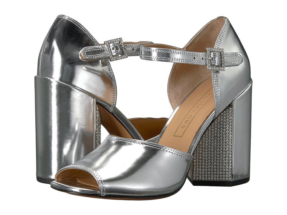 Marc Jacobs - Kasia Strass Sandal (Silver) Women's Sandals