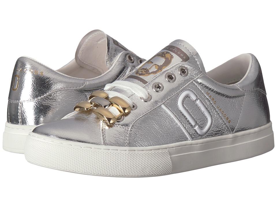 Marc Jacobs Empire Chain Link Sneaker (Silver) Women