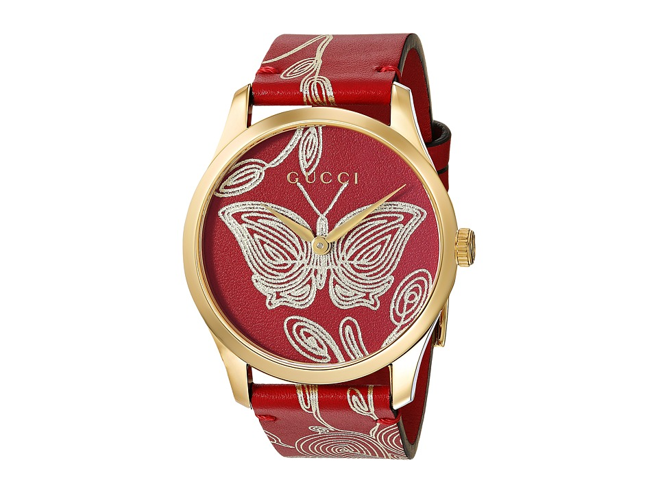 Gucci G-Timeless - YA1264054 (Red) Watches