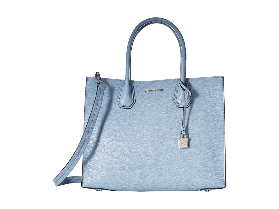 MICHAEL Michael Kors - Mercer Large Convertible Tote (Pale Blue) Tote Handbags