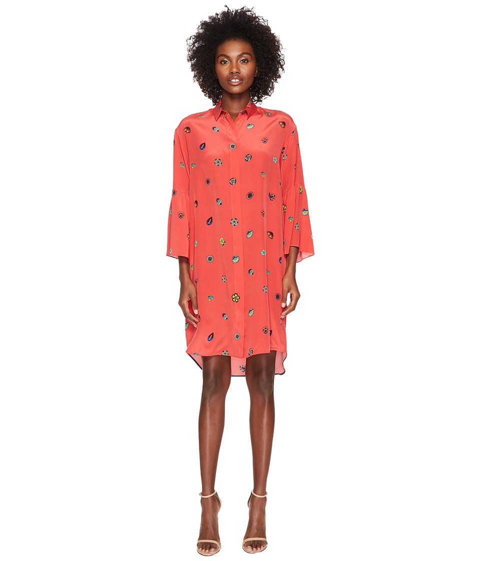 Paul Smith - Floral Print Silk Dress