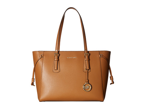 MICHAEL Michael Kors Voyager Medium Top Zip Tote at Zappos.com 84b9c828d2