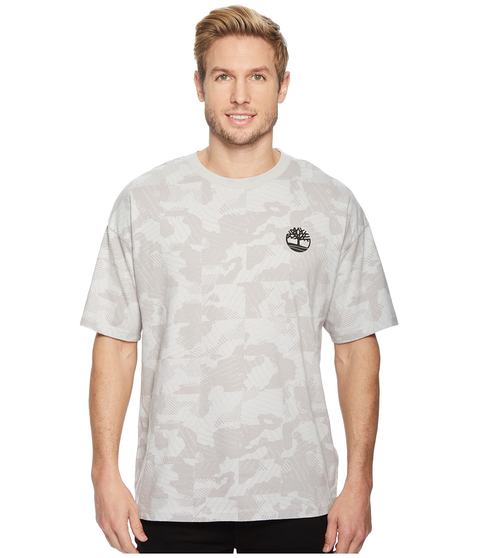 Timberland - Warner River Short Sleeve Oversized Tee (Micro Chip Camo) Mens T Shirt