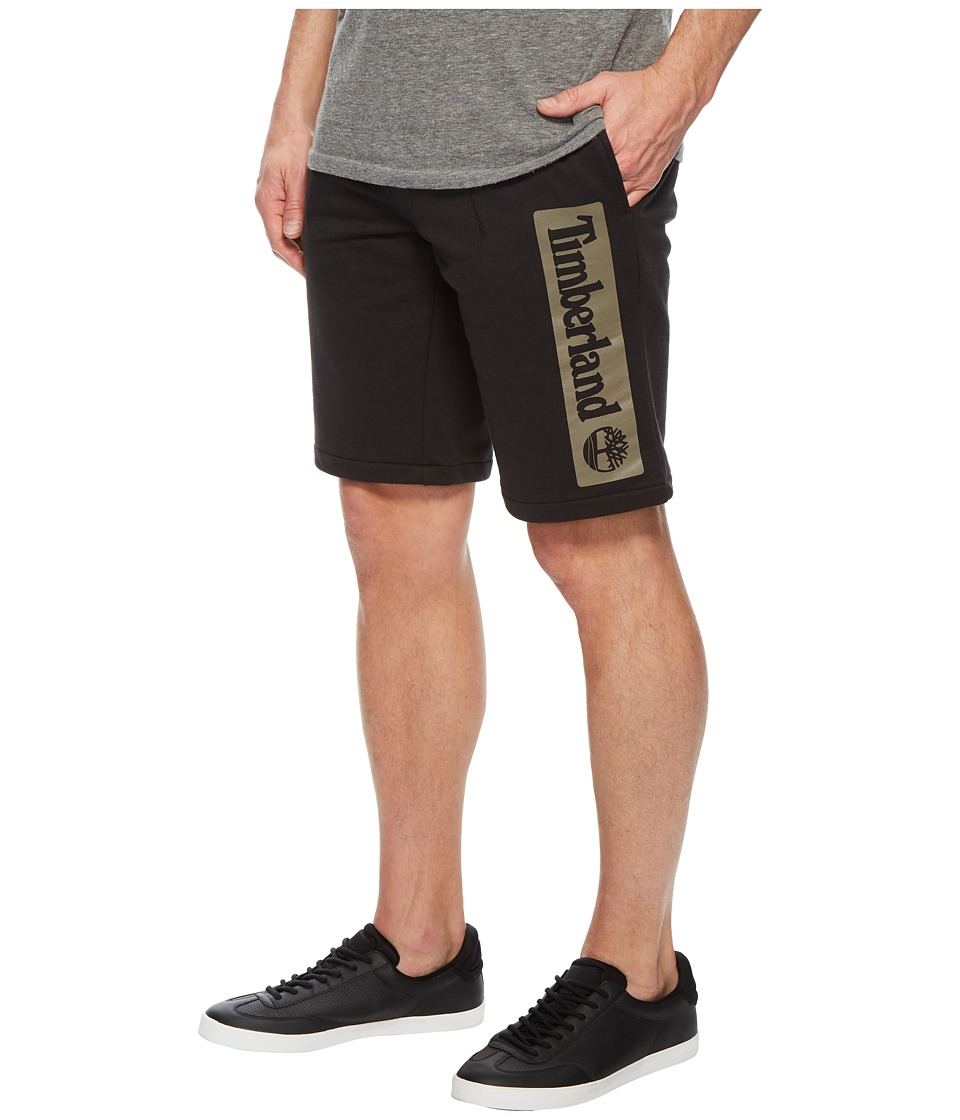 Timberland - Jogger Shorts (Black Linear) Mens Shorts