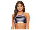 Tommy Bahama Breton Stripe High-Neck Bikini Top