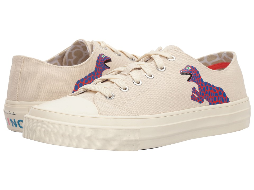 Paul Smith PS Kinsey Low Profile (Ivory Canvas) Women