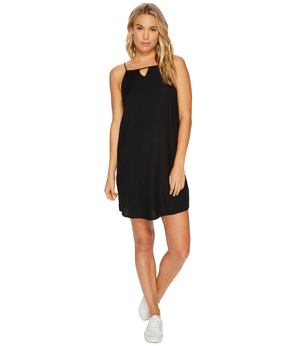RVCA Payback Dress (Black) Women