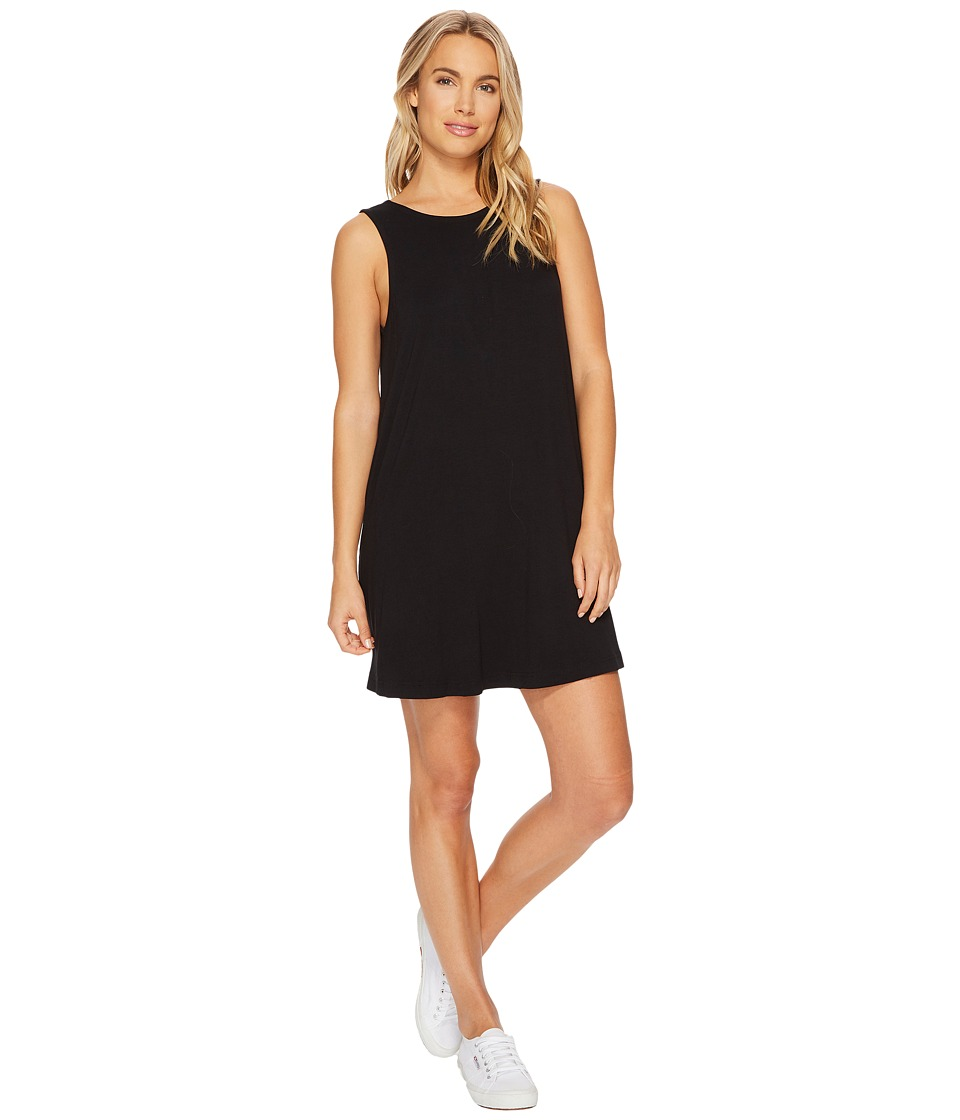 RVCA Tempted Dress (Black) Women