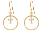 Vanessa Mooney The Dina Cross Earrings