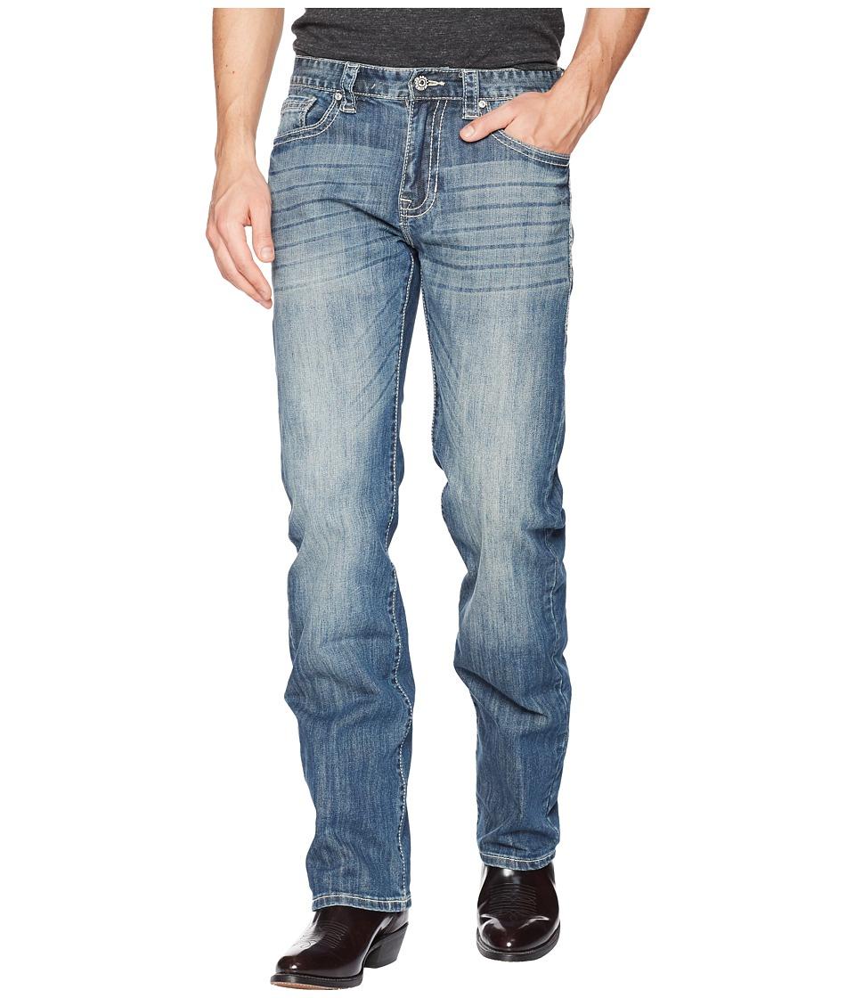Rock and Roll Cowboy - Reflex Revolver in Medium Wash M1R5140 (Medium Wash) Mens Jeans