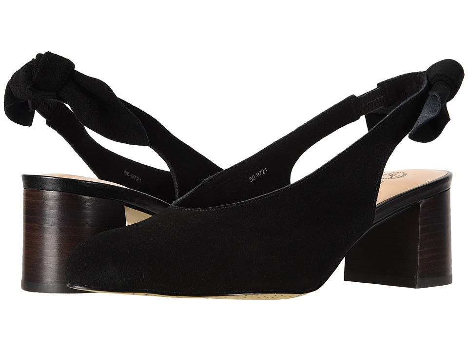 Bella-Vita Joni (Black Suede Leather) Women