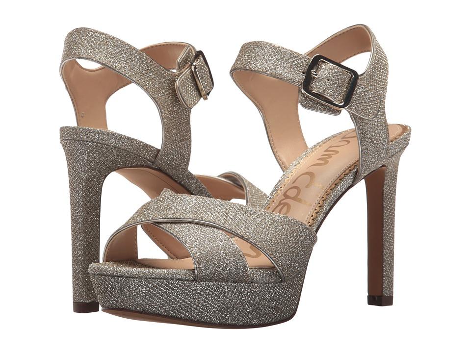 Sam Edelman - Jordan (Jute Glitz Fabric) High Heels