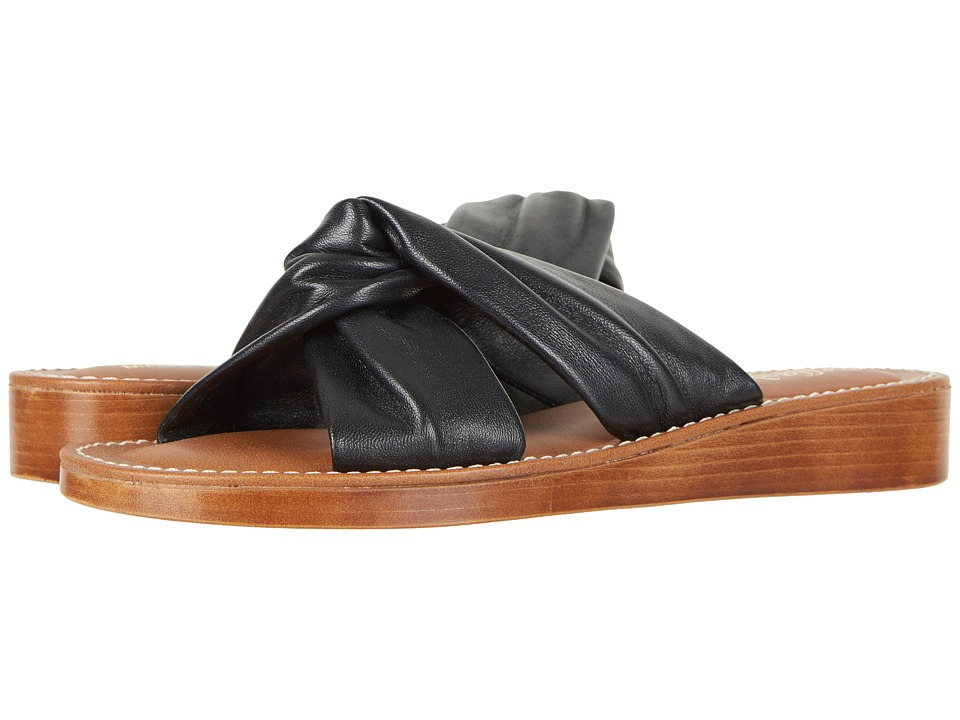 Bella-Vita Noa-Italy (Black Italian Leather) Sandals