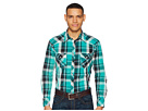 Rock and Roll Cowboy Rock and Roll Cowboy Plaid Long Sleeve Snap B2S5709
