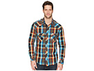 Rock and Roll Cowboy Rock and Roll Cowboy Plaid Long Sleeve Snap B2S5730