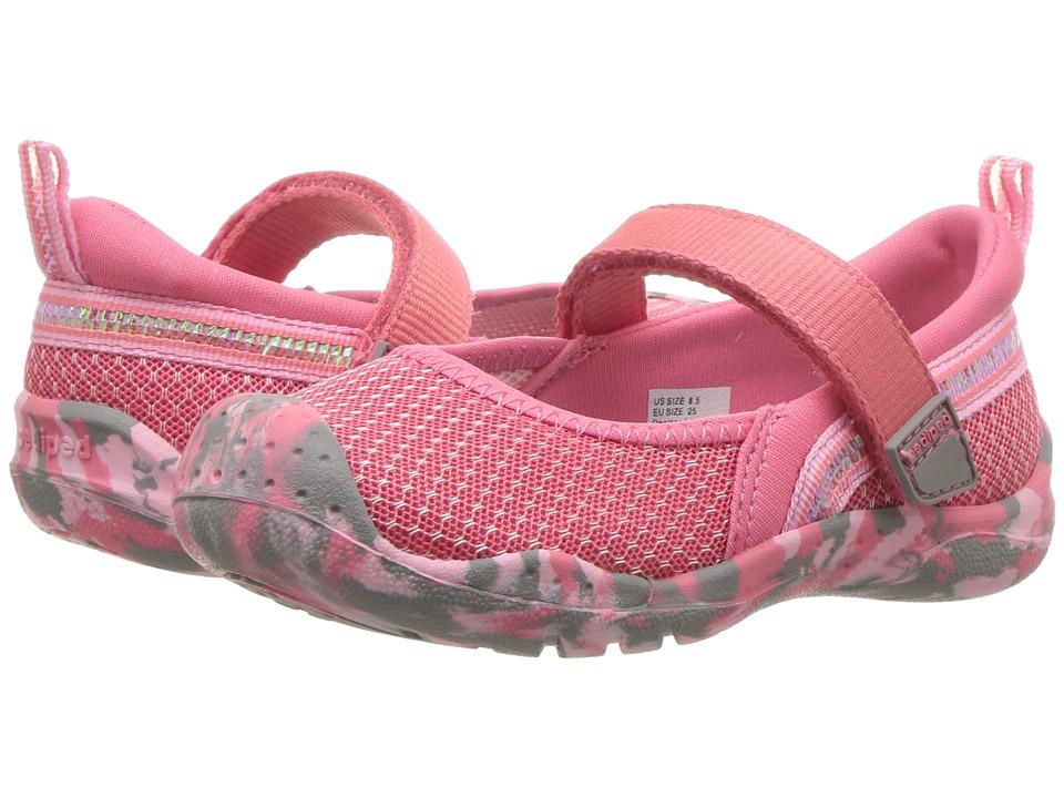 pediped River Flex (Toddler/Little Kid/Big Kid) (Pink) Girl's Shoes