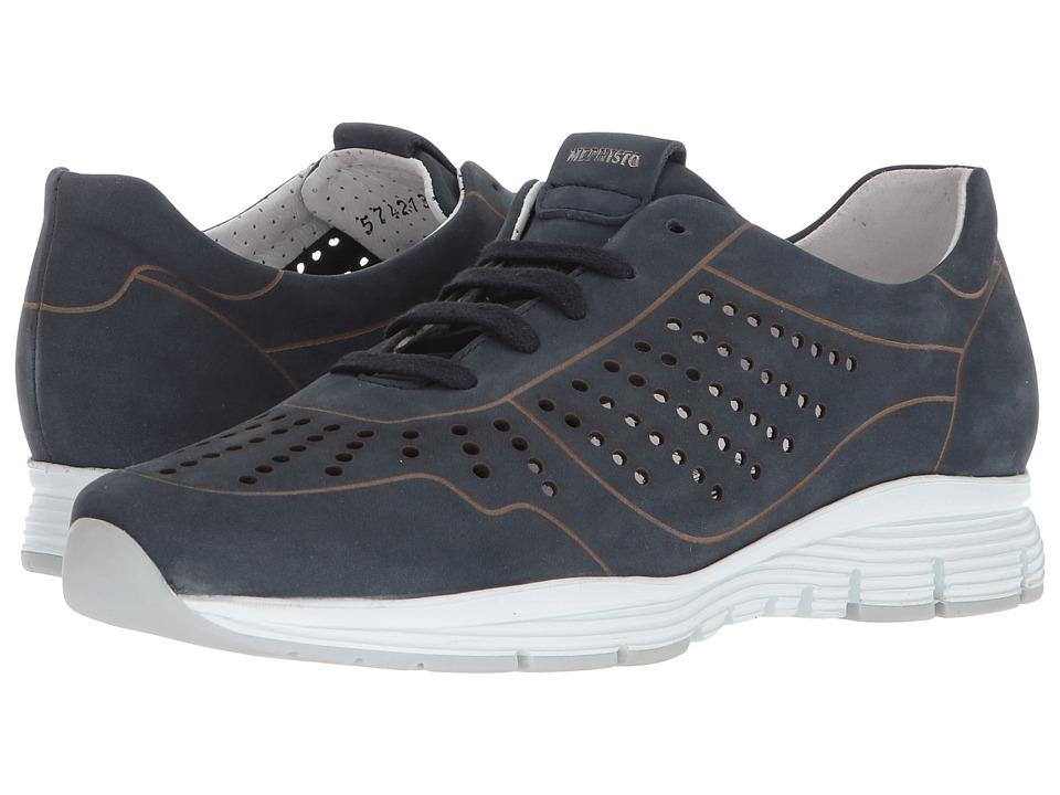 Mephisto - Yliane (Navy Nubuck) Womens  Shoes