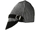 MICHAEL Michael Kors Pinstripe Double Face Jacquard Peak Hat