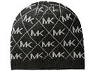 MICHAEL Michael Kors Diamond Metallic Logo Beanie