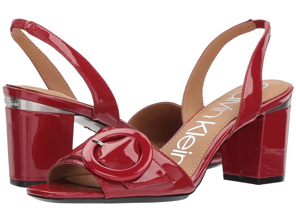 Calvin Klein Claudia (Crimson Red) Women