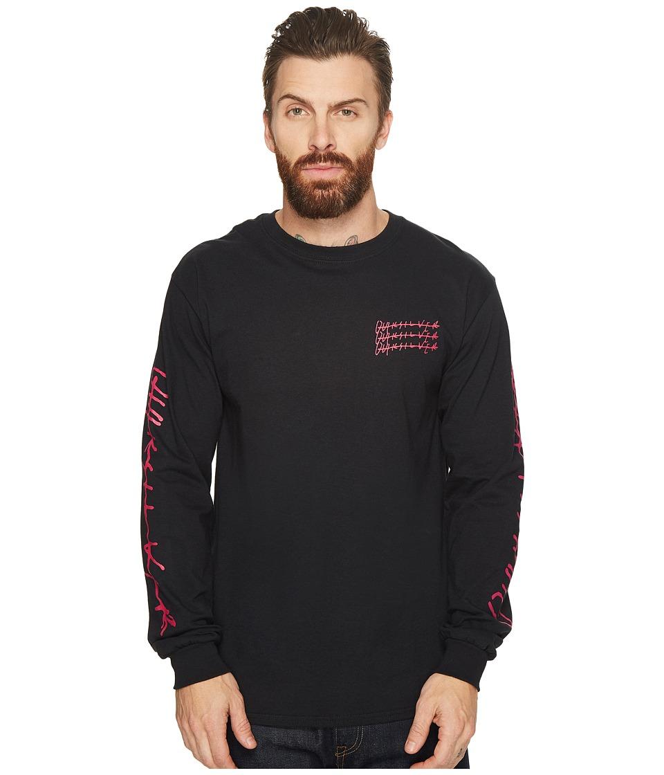 Quiksilver Scripps Long Sleeve Shirt (Black) Men
