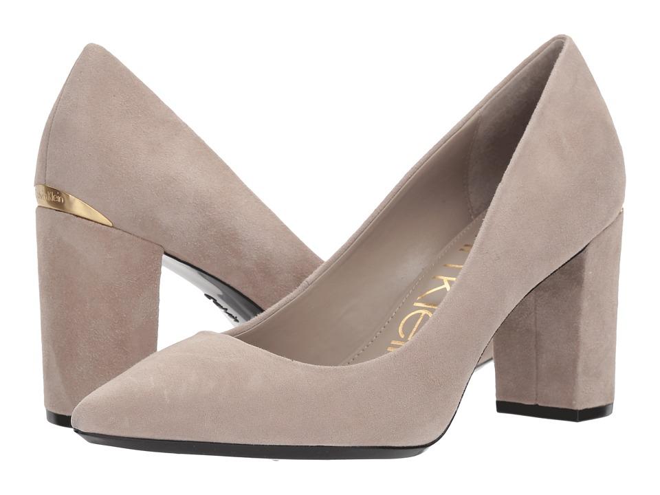 Calvin Klein Eviti (Clay) High Heels