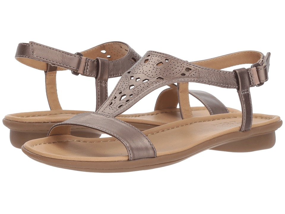 Naturalizer Windham (Bronze/Alloy/Metallic Leather) Sandals