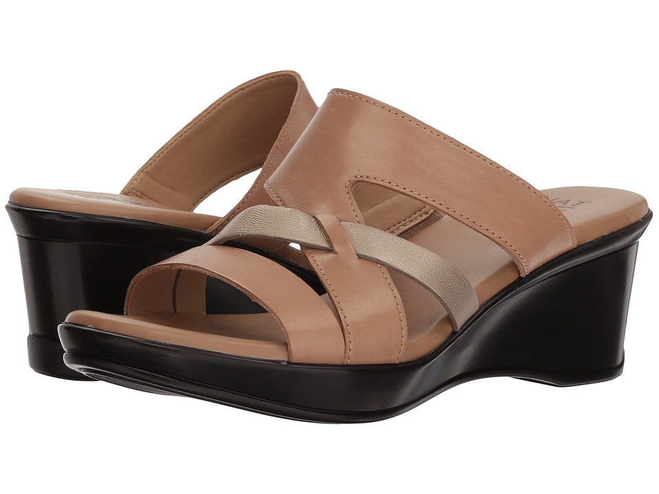 Naturalizer Vivy (Ginger Multi Leather Metallic) Sandals