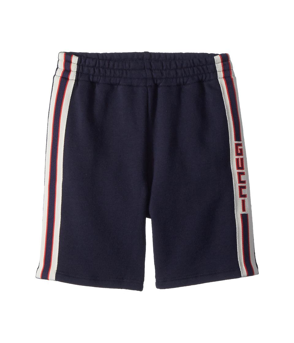 Gucci Kids - Short Jogging Pants 497808X9L54 (Infant) (Urban Blue/White) Boys Casual Pants