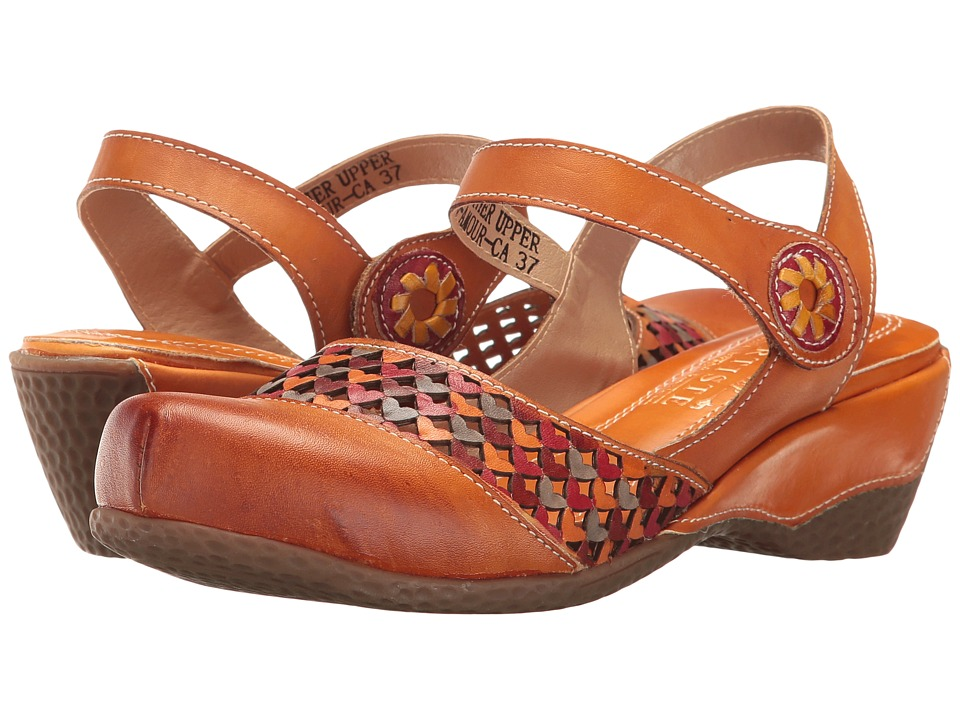 L'Artiste by Spring Step Amour (Camel) Women's Shoes