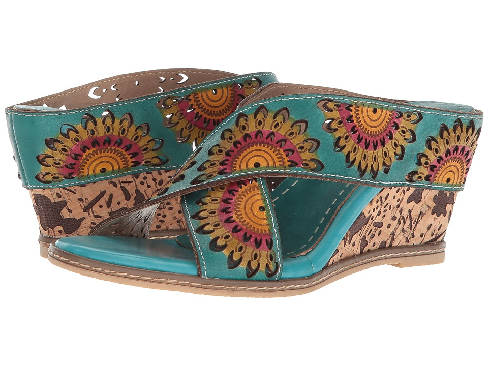 LArtiste by Spring Step - Enticing (Turquoise) Womens Shoes