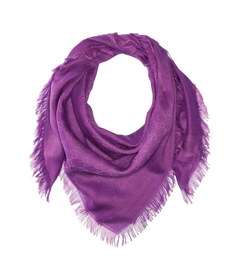 Gucci Kids - Sl Sammy 90X90 4182224K105 (Purple) Scarves