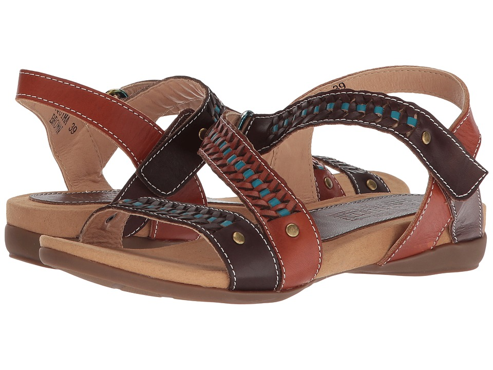 L'Artiste by Spring Step Joaquima (Brown Multi) Women's Shoes
